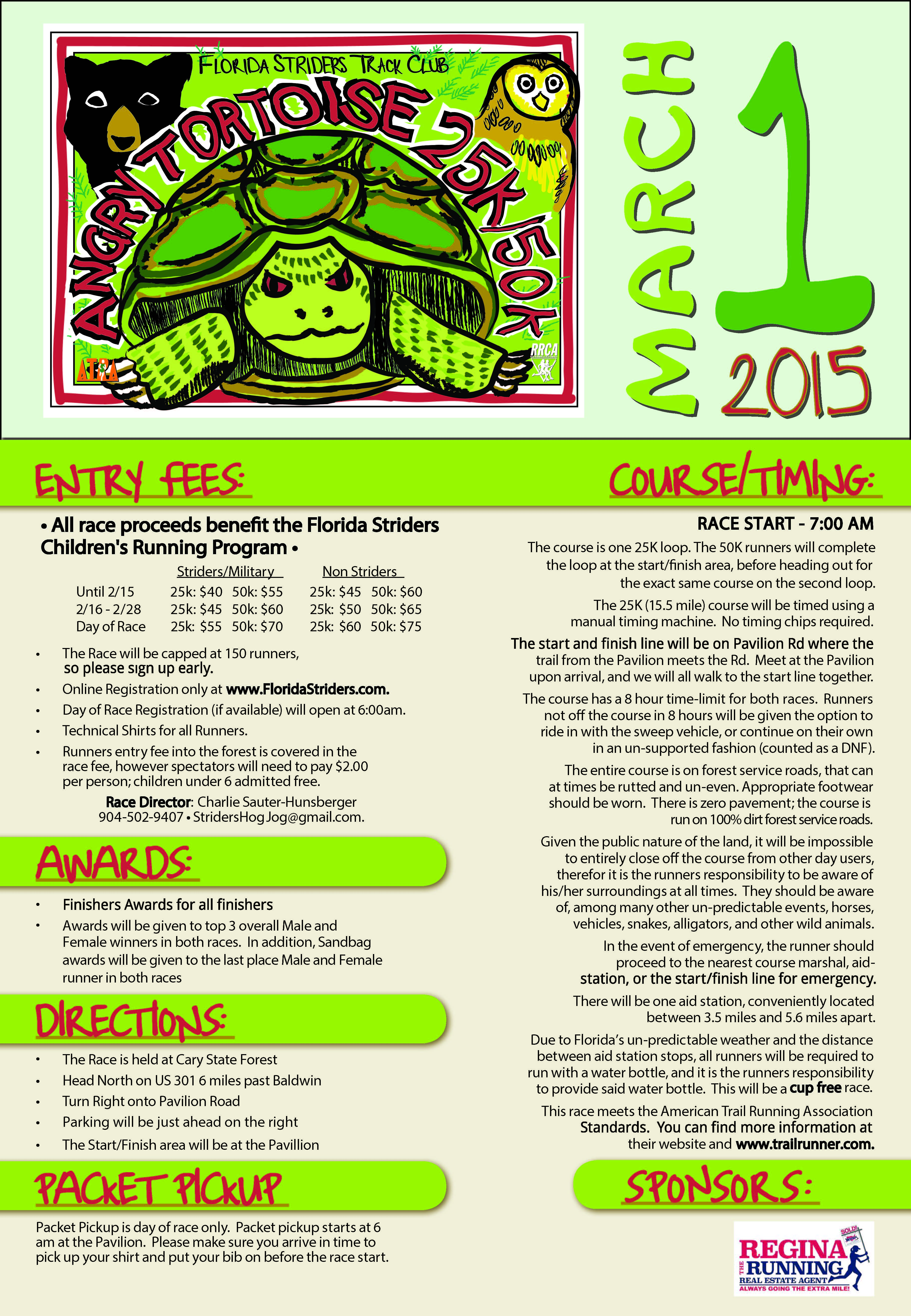 angry tortoise flyer revised 1st place sports