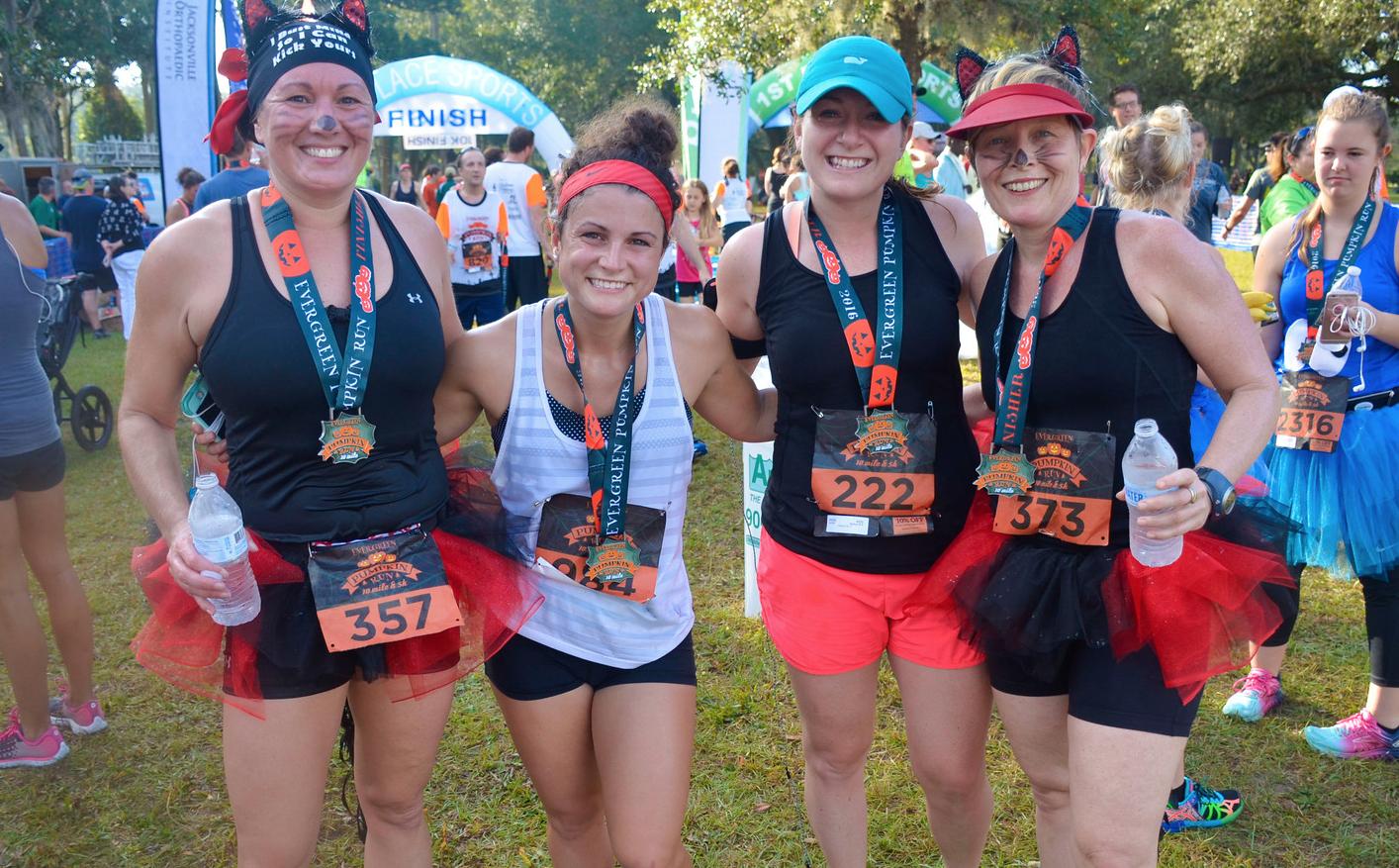 20th Annual EverGreen Pumpkin Run – 1st Place Sports